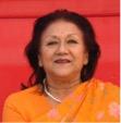 Rani Vidhya Devi of Jaipur President MGD School, Jaipur